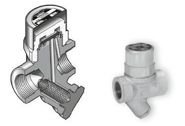 s55h热动力圆盘式蒸汽疏水阀图片