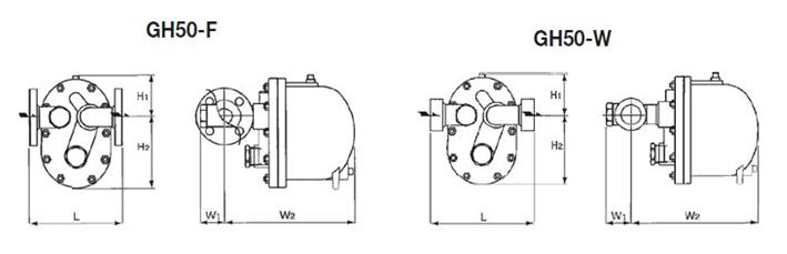 gh50 gh50浮球式蒸汽疏水阀原装宫胁蒸汽疏水阀图片